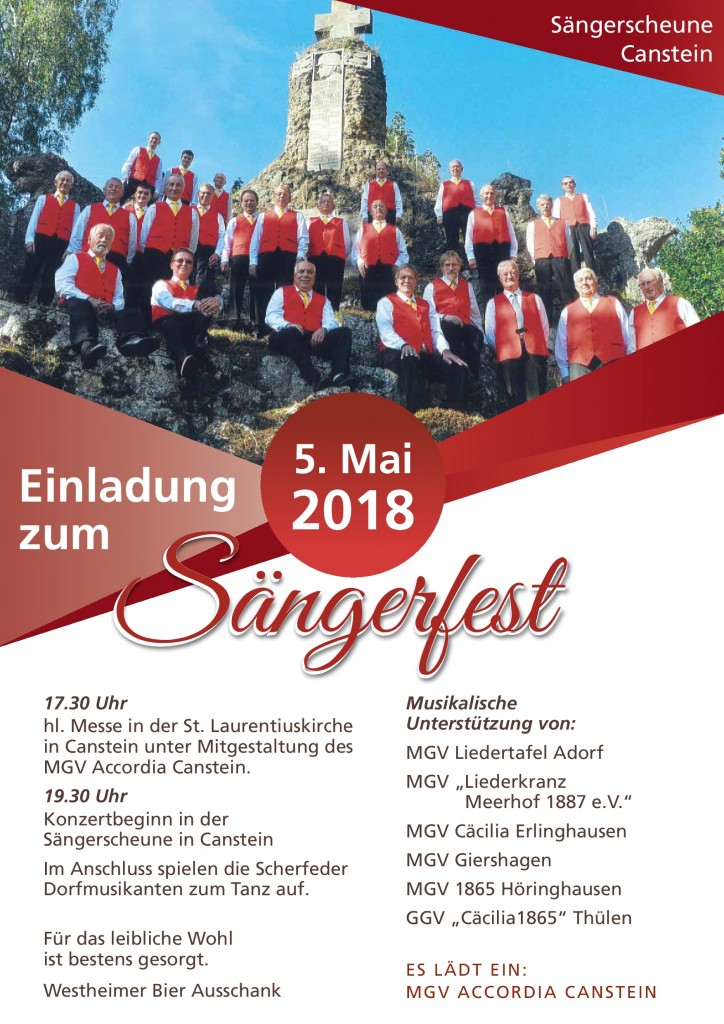 Sängerfest 2018